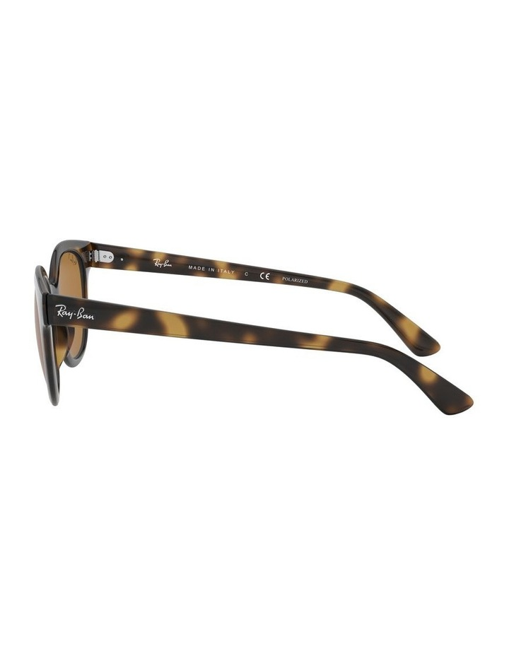 Brown Square Sunglasses 0RB4324 1526228003 image 4