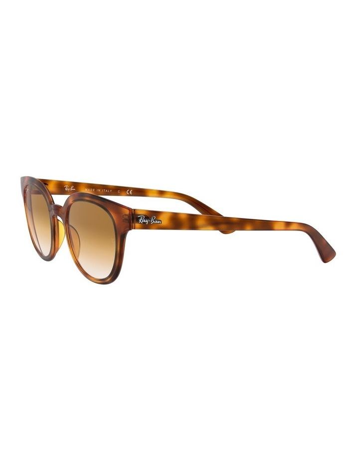 Brown Square Sunglasses 0RB4324 1526228009 image 3