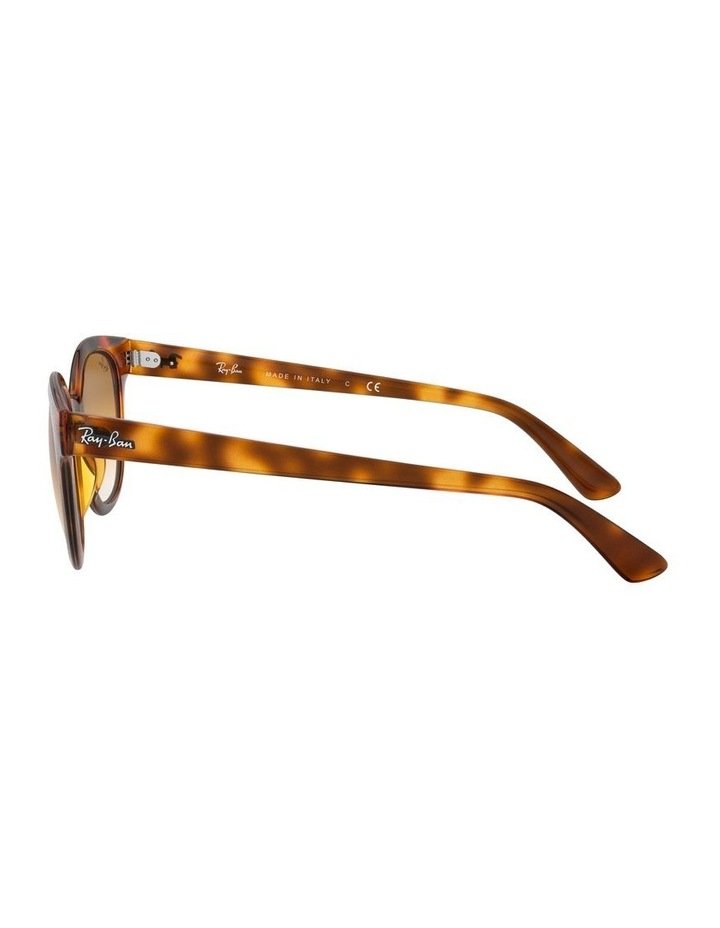 Brown Square Sunglasses 0RB4324 1526228009 image 4