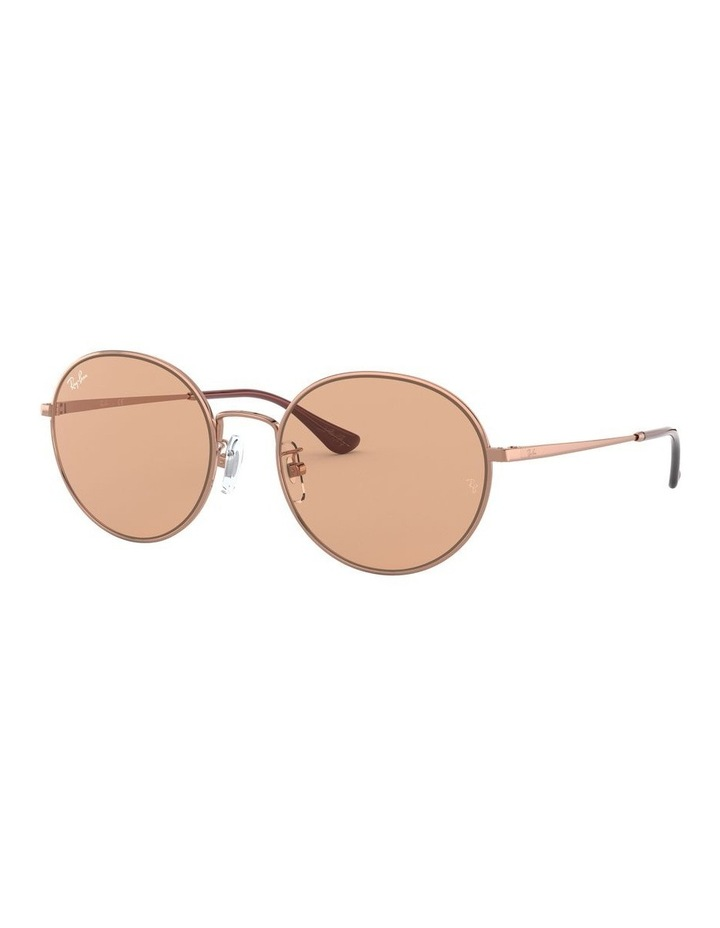 Brown Round Sunglasses 0RB3612 1528379001 image 1