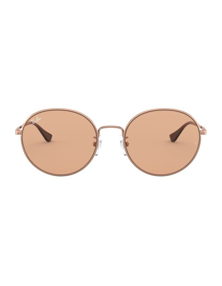 Brown Round Sunglasses 0RB3612 1528379001 image 2