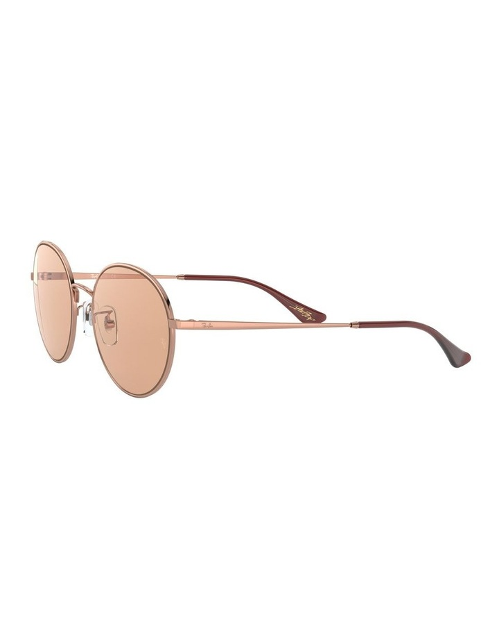 Brown Round Sunglasses 0RB3612 1528379001 image 3