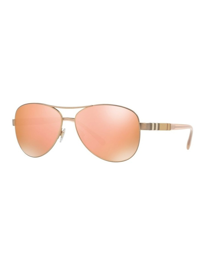 Matte Gold Aviator Sunglasses 0BE3080 1503613008 image 1