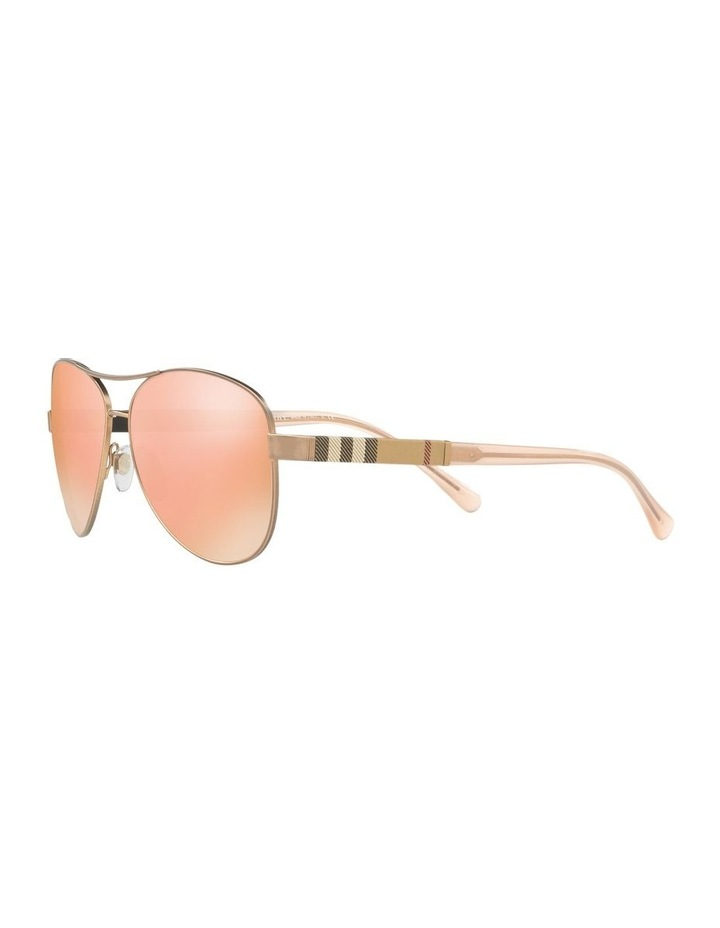 Matte Gold Aviator Sunglasses 0BE3080 1503613008 image 3