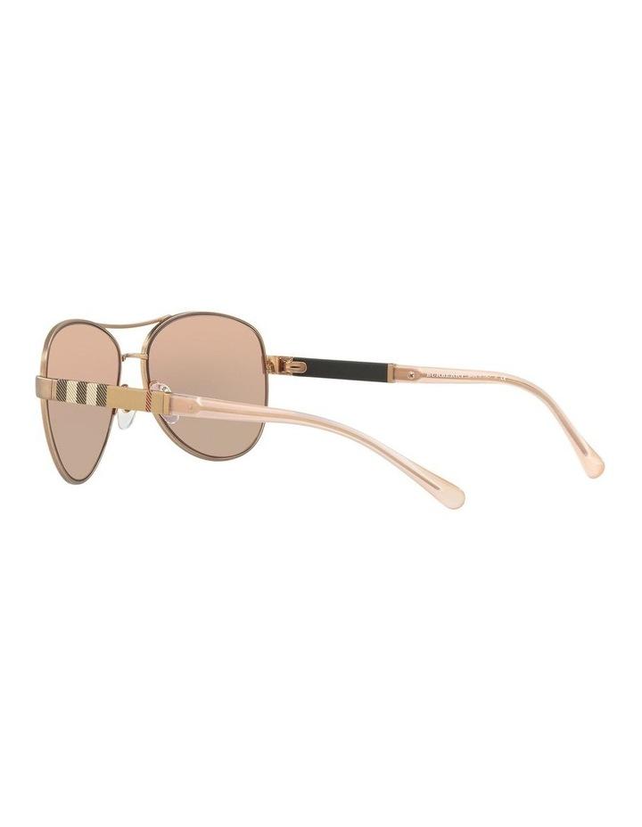 Matte Gold Aviator Sunglasses 0BE3080 1503613008 image 5