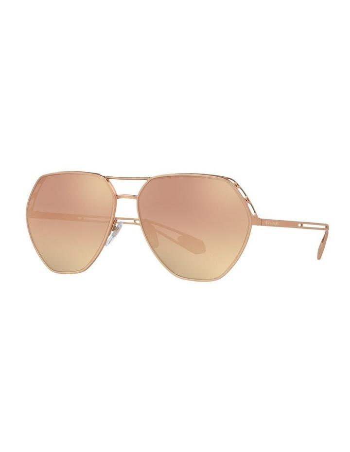 Gold Aviator Sunglasses 0BV6098 1517597004 image 1
