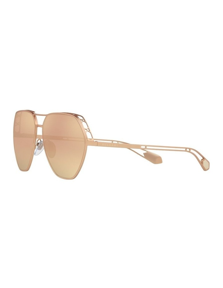 Gold Aviator Sunglasses 0BV6098 1517597004 image 3