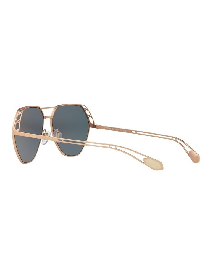 Gold Aviator Sunglasses 0BV6098 1517597004 image 5