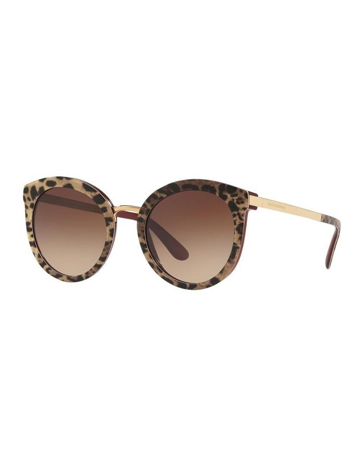 Brown Round Sunglasses 0DG4268 1508702010 image 1