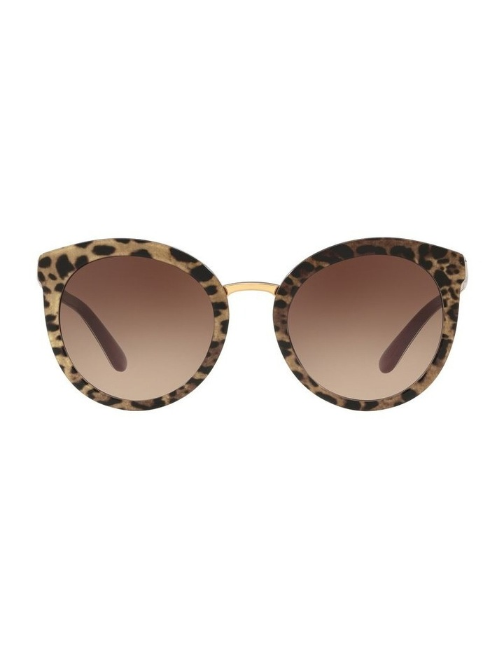 Brown Round Sunglasses 0DG4268 1508702010 image 2