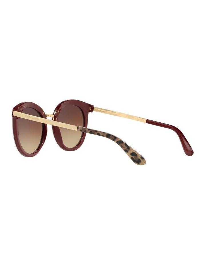 Brown Round Sunglasses 0DG4268 1508702010 image 5