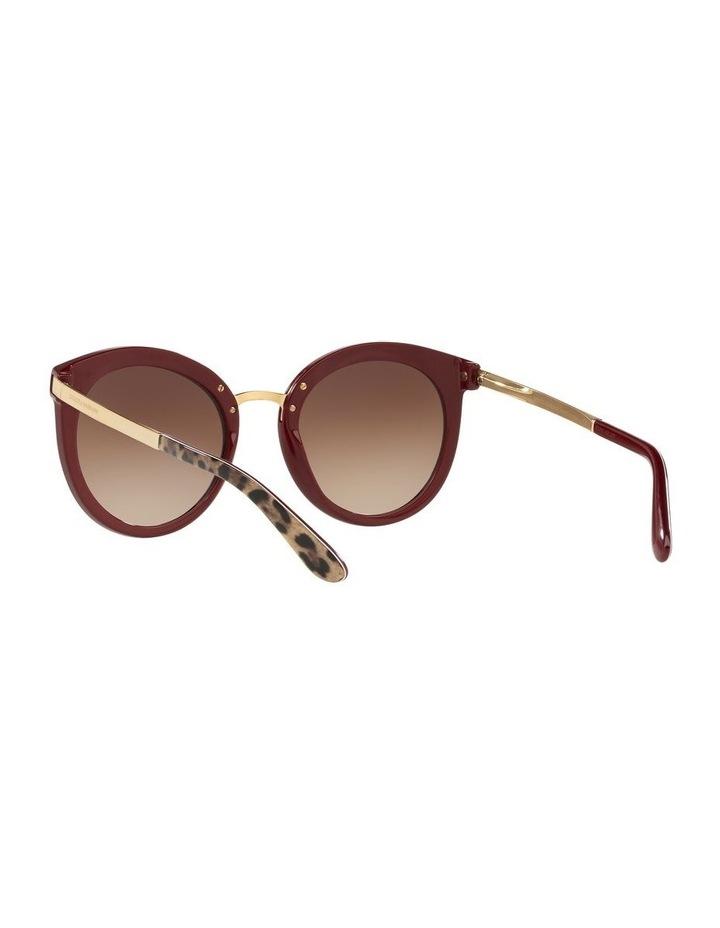 Brown Round Sunglasses 0DG4268 1508702010 image 6