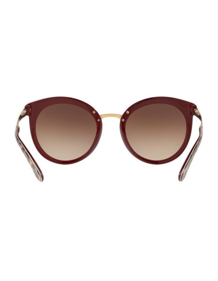Brown Round Sunglasses 0DG4268 1508702010 image 7