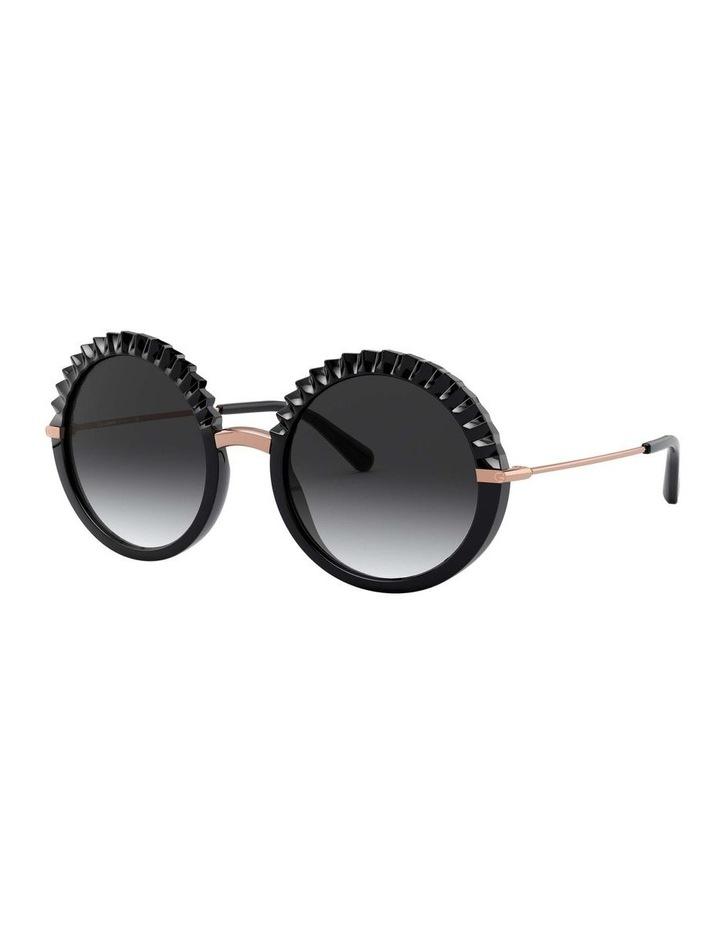 Grey Round Sunglasses 0DG6130 1529924005 image 1