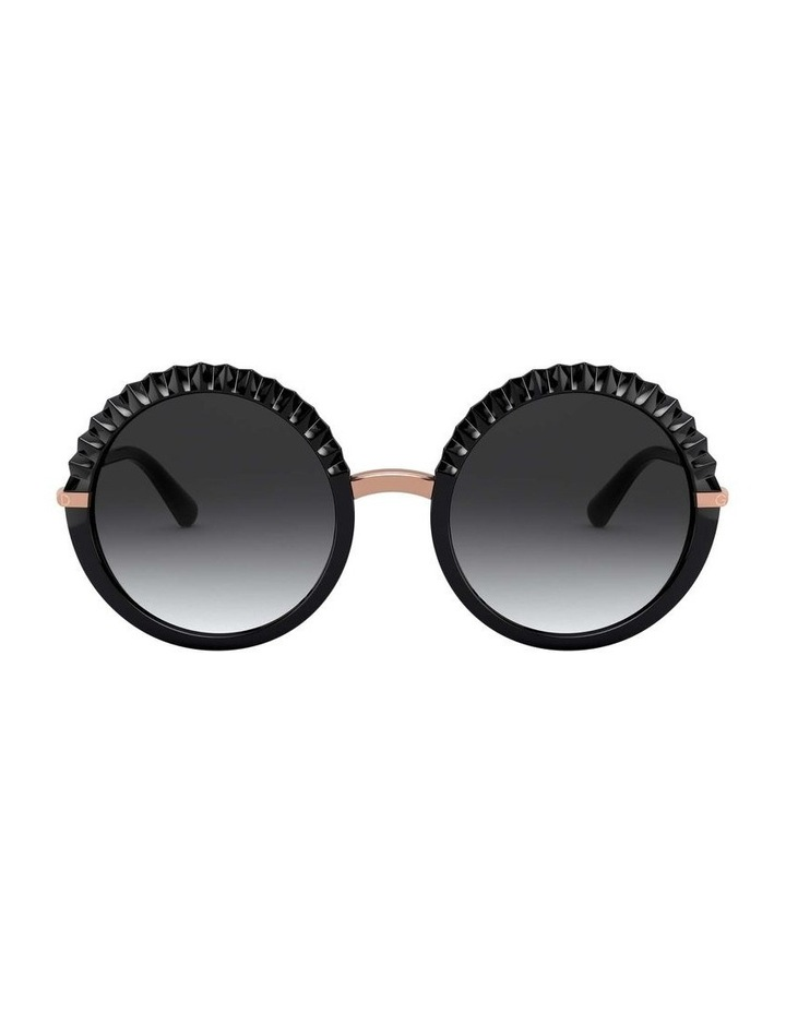 Grey Round Sunglasses 0DG6130 1529924005 image 2
