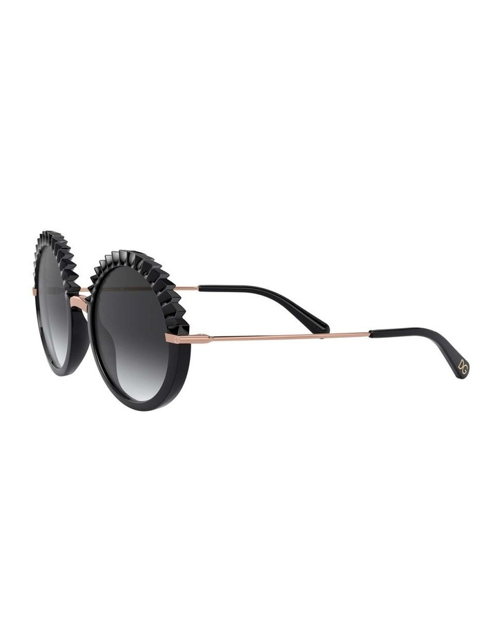 Grey Round Sunglasses 0DG6130 1529924005 image 3
