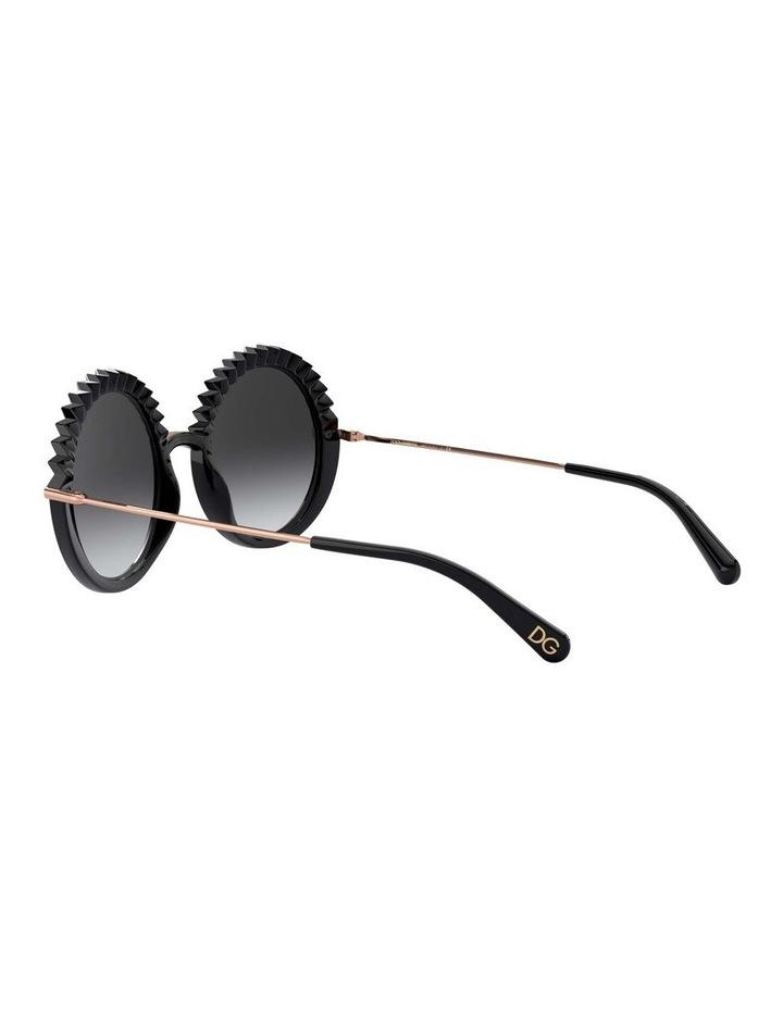 Grey Round Sunglasses 0DG6130 1529924005 image 5