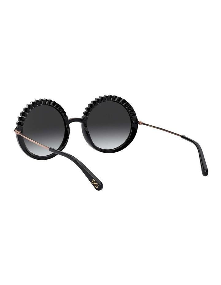 Grey Round Sunglasses 0DG6130 1529924005 image 6