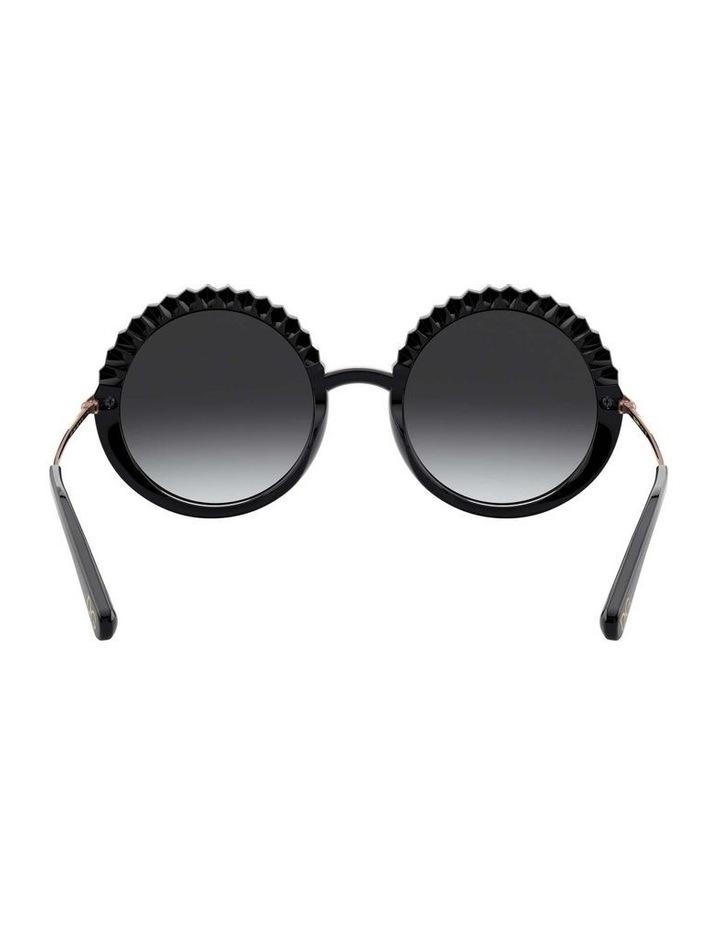 Grey Round Sunglasses 0DG6130 1529924005 image 7