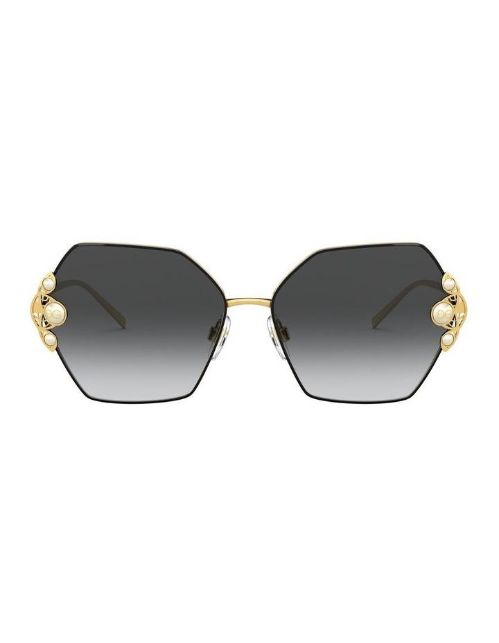 Grey Hexagon Sunglasses 0DG2253H 1529927004 image 1