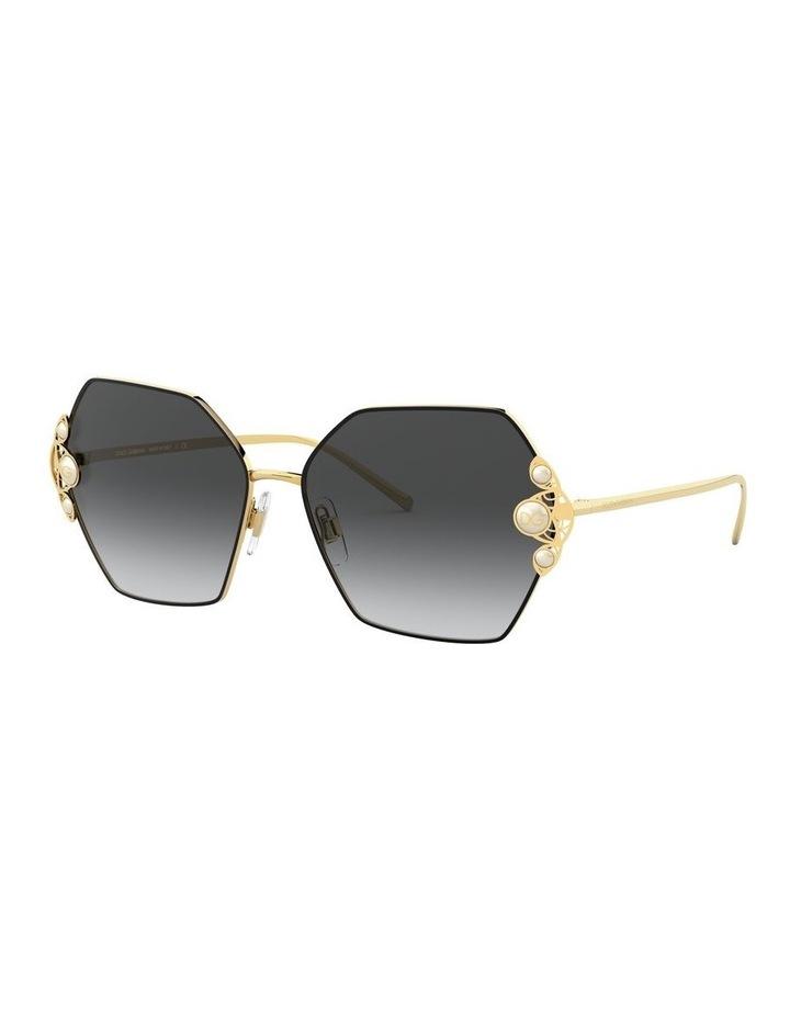 Grey Hexagon Sunglasses 0DG2253H 1529927004 image 2