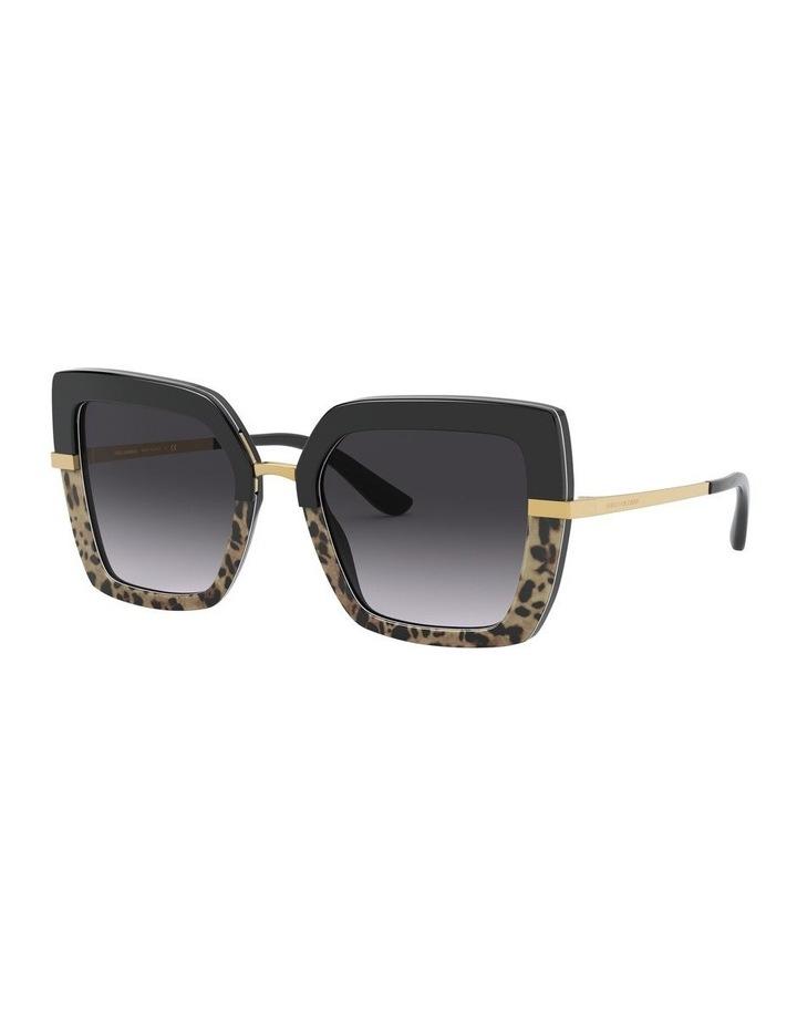 Square Sunglasses 0DG4373Grey image 1
