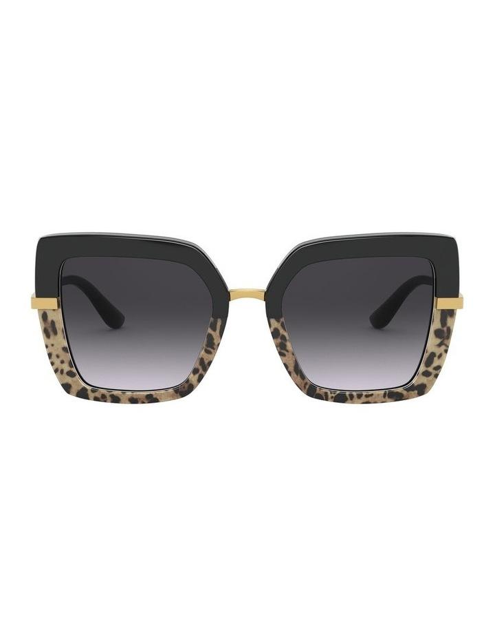 Square Sunglasses 0DG4373Grey image 2