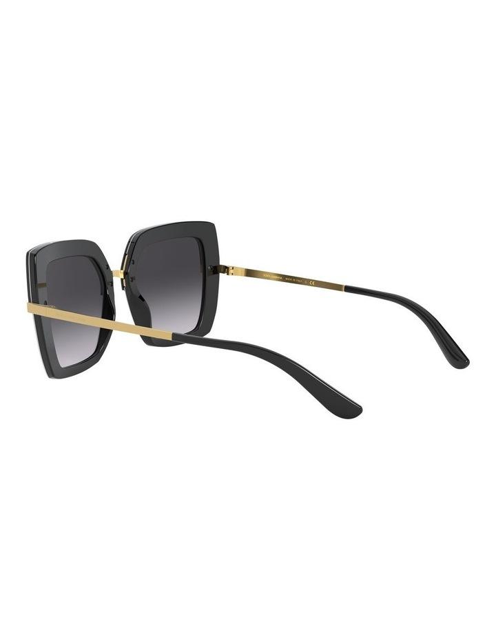 Square Sunglasses 0DG4373Grey image 5