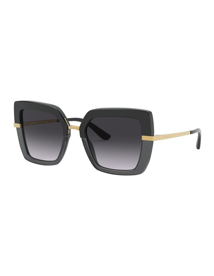 Grey Square Sunglasses 0DG4373 1529928005 image 1