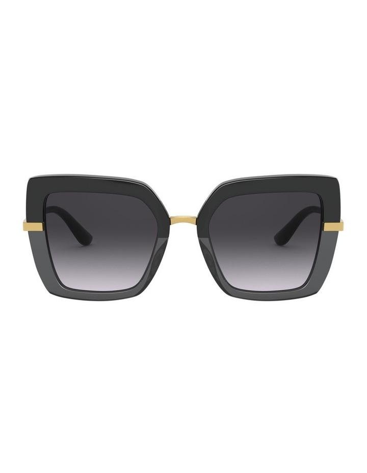 Grey Square Sunglasses 0DG4373 1529928005 image 2