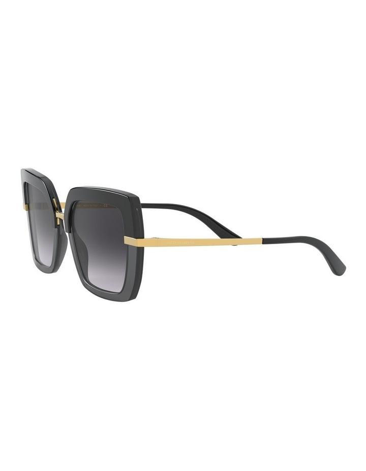Grey Square Sunglasses 0DG4373 1529928005 image 3