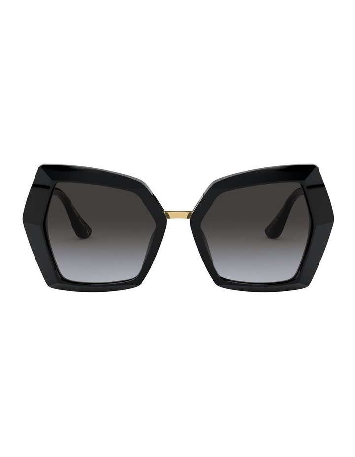 Grey Butterfly Sunglasses 0DG4377 1531099002 image 1