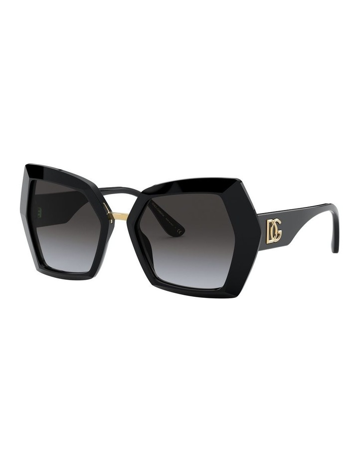 Grey Butterfly Sunglasses 0DG4377 1531099002 image 2