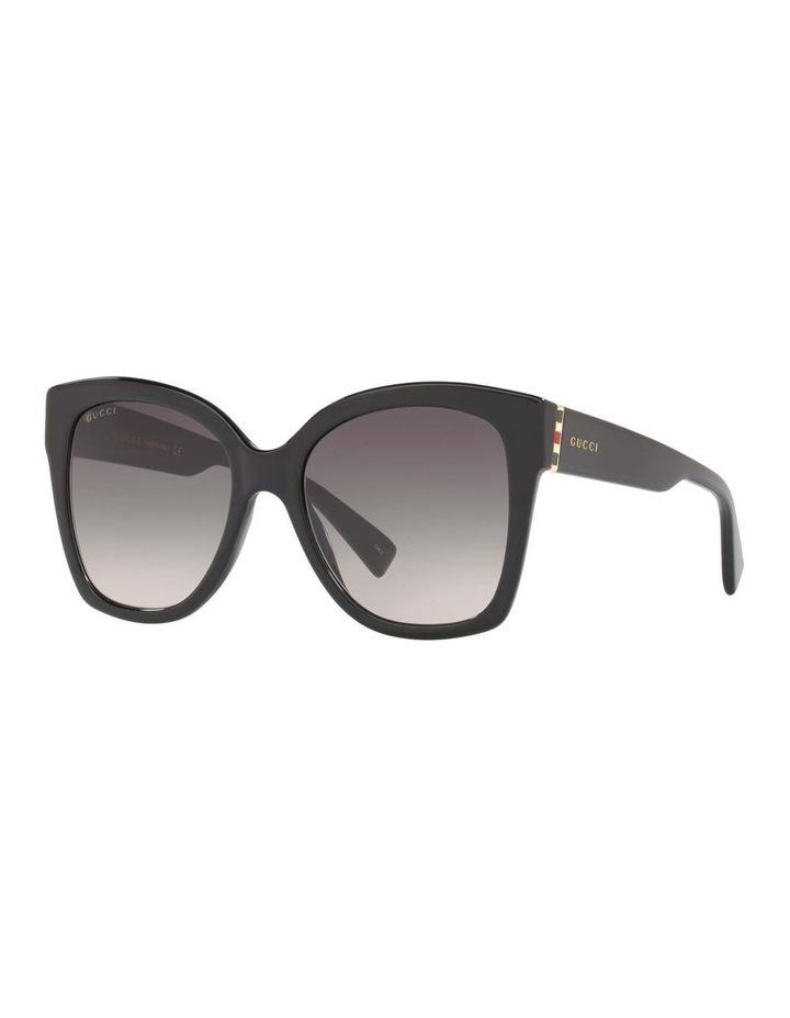 Black Square Sunglasses 0GC001221 1524355001 image 1