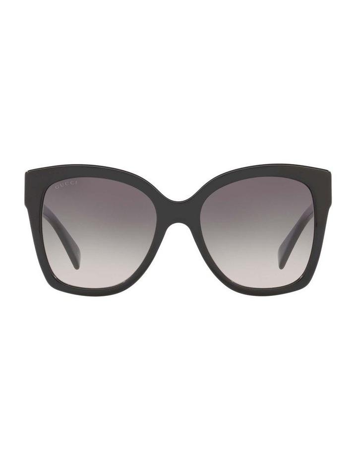 Black Square Sunglasses 0GC001221 1524355001 image 2