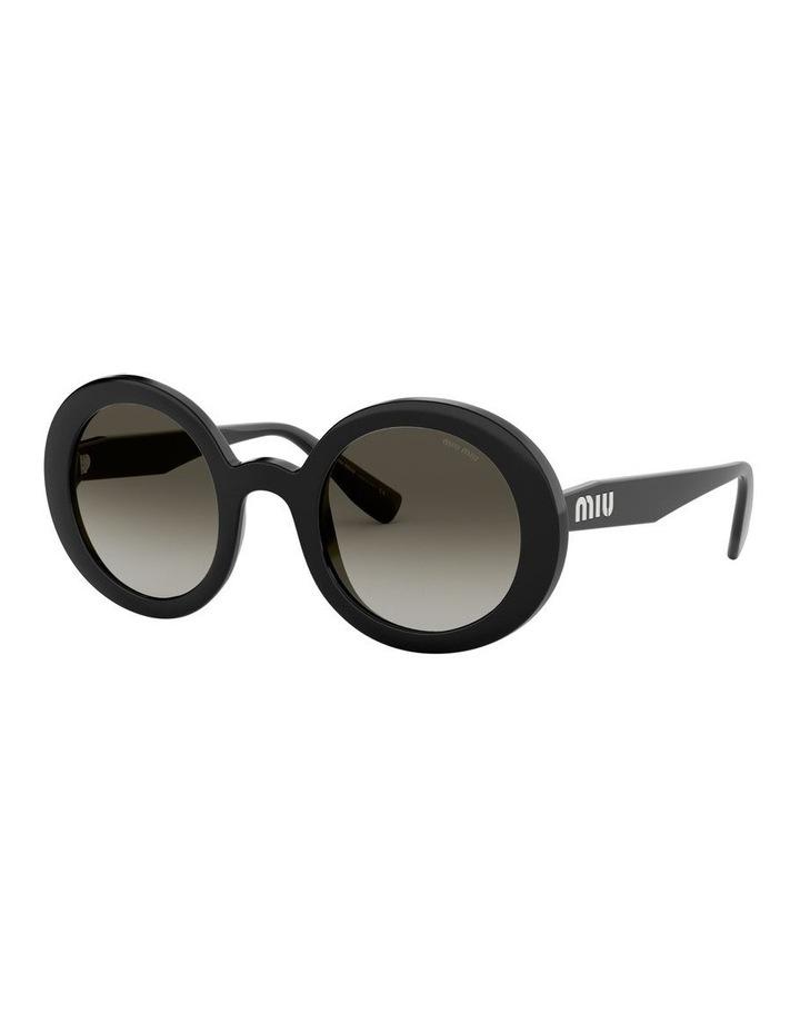 Grey Round Sunglasses 0MU06US 1522084001 image 1