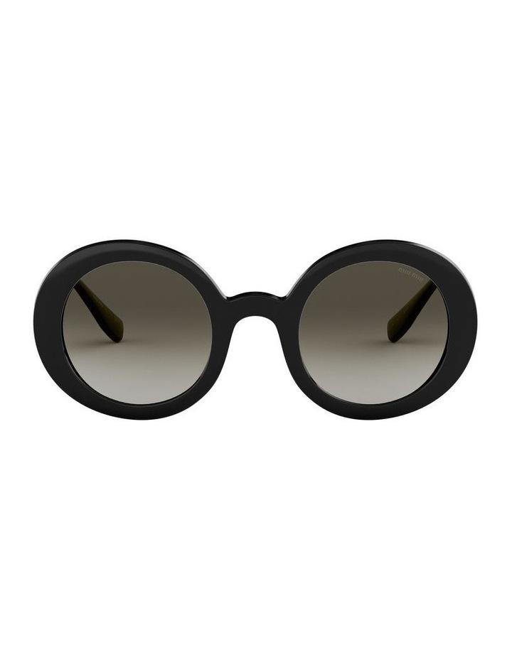 Grey Round Sunglasses 0MU06US 1522084001 image 2