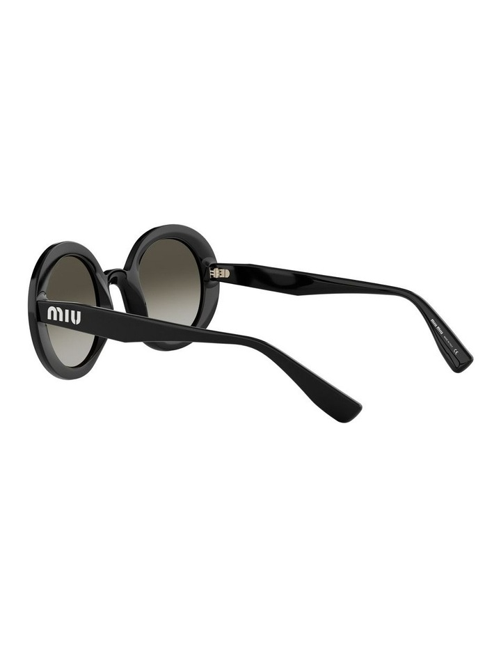 Grey Round Sunglasses 0MU06US 1522084001 image 5