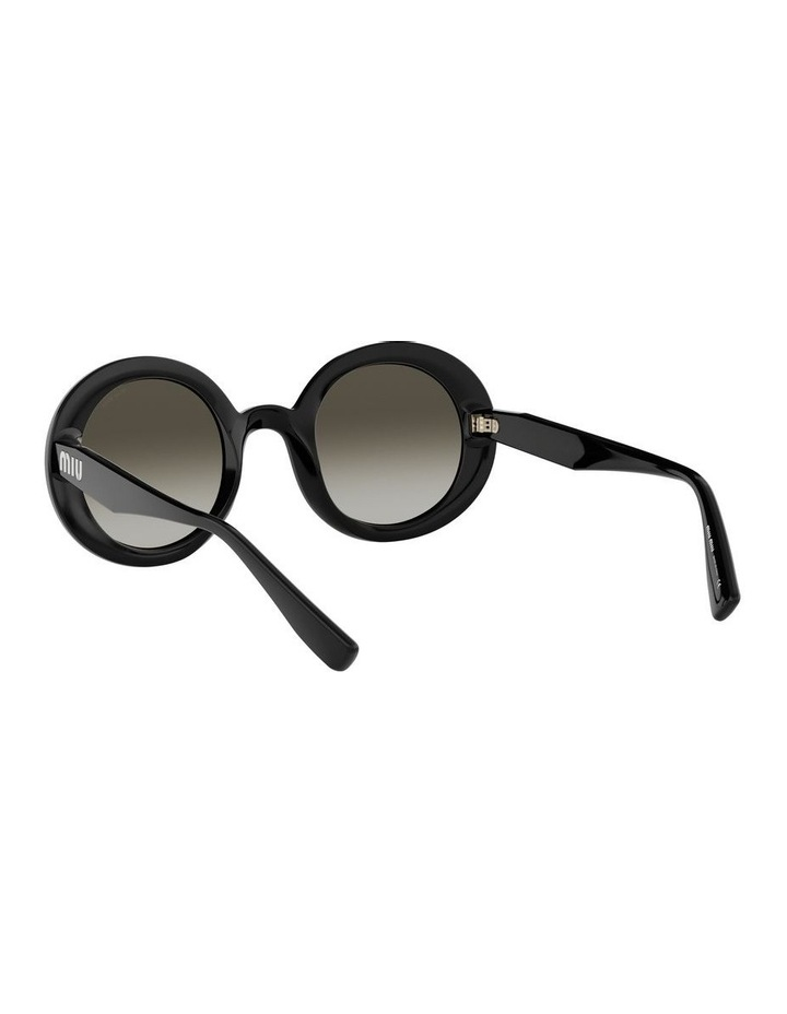 Grey Round Sunglasses 0MU06US 1522084001 image 6