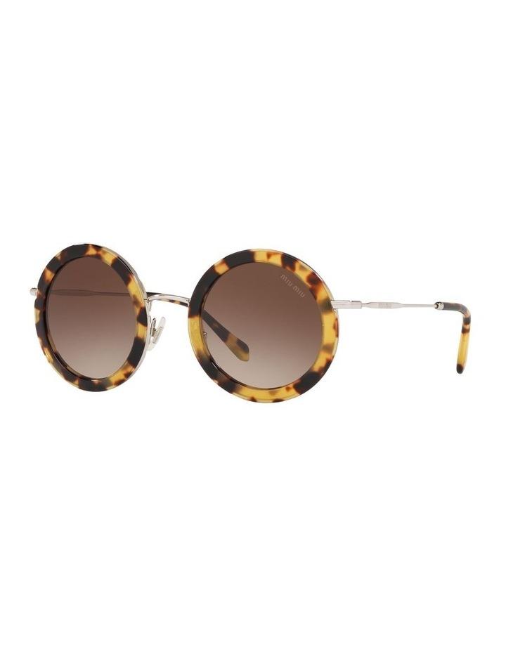 Brown Round Sunglasses 0MU59US 1523644003 image 1