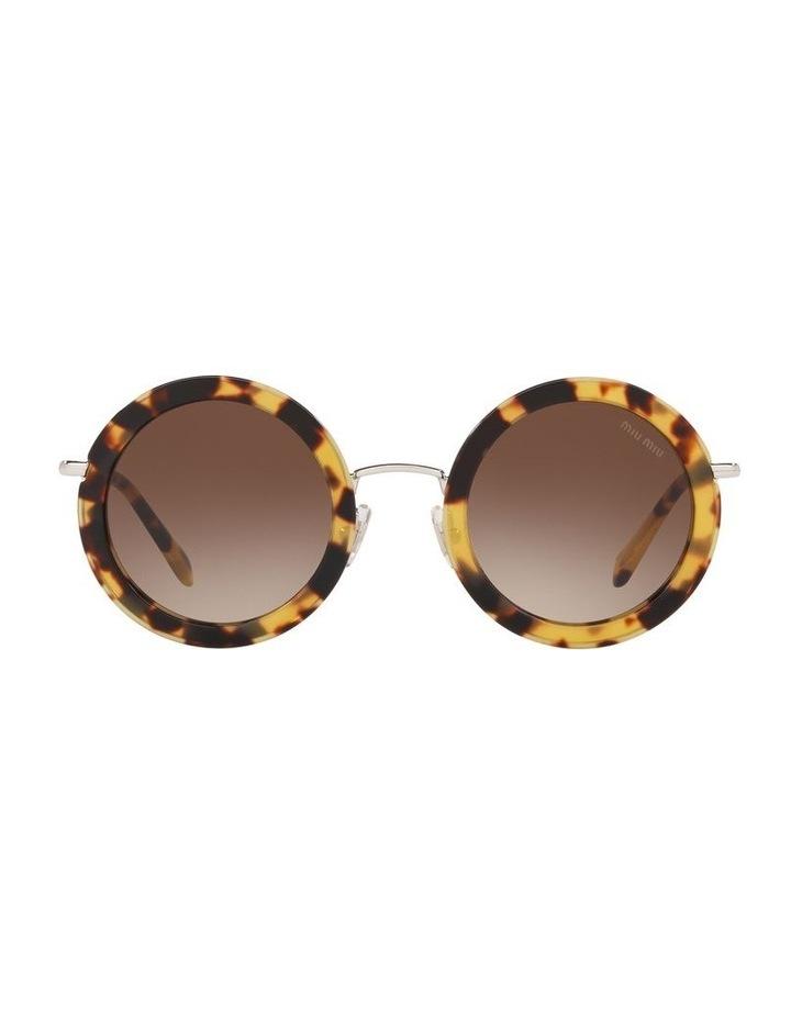 Brown Round Sunglasses 0MU59US 1523644003 image 2