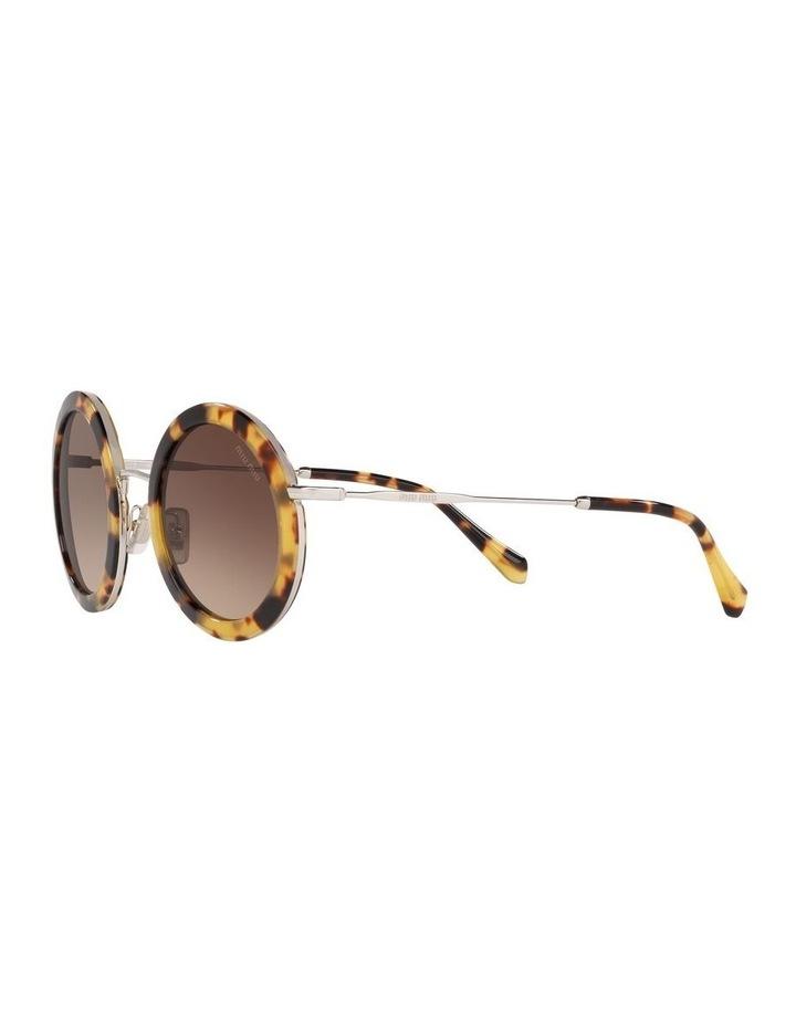 Brown Round Sunglasses 0MU59US 1523644003 image 3