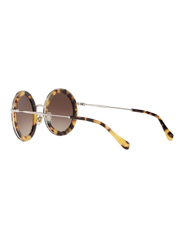 Brown Round Sunglasses 0MU59US 1523644003 image 5