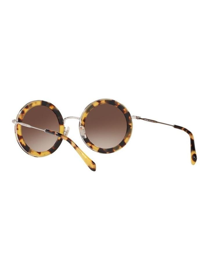 Brown Round Sunglasses 0MU59US 1523644003 image 6