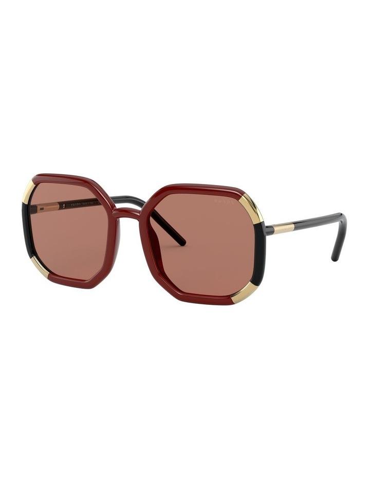 Red/Black Octagon Sunglasses 0PR20XS 1531045003 image 1
