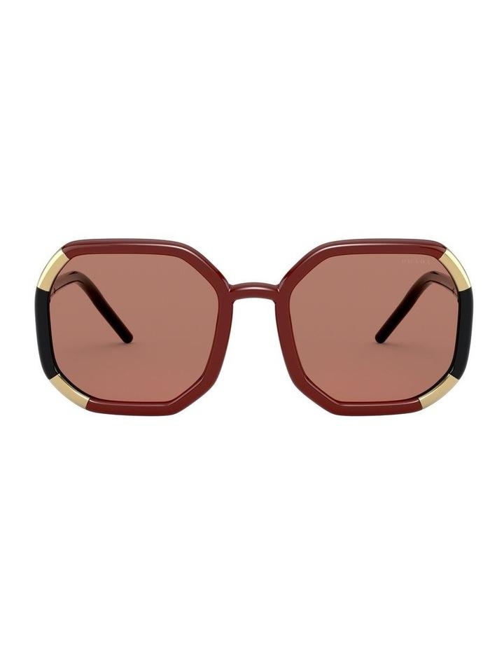 Red/Black Octagon Sunglasses 0PR20XS 1531045003 image 2