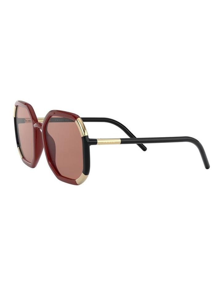 Red/Black Octagon Sunglasses 0PR20XS 1531045003 image 3