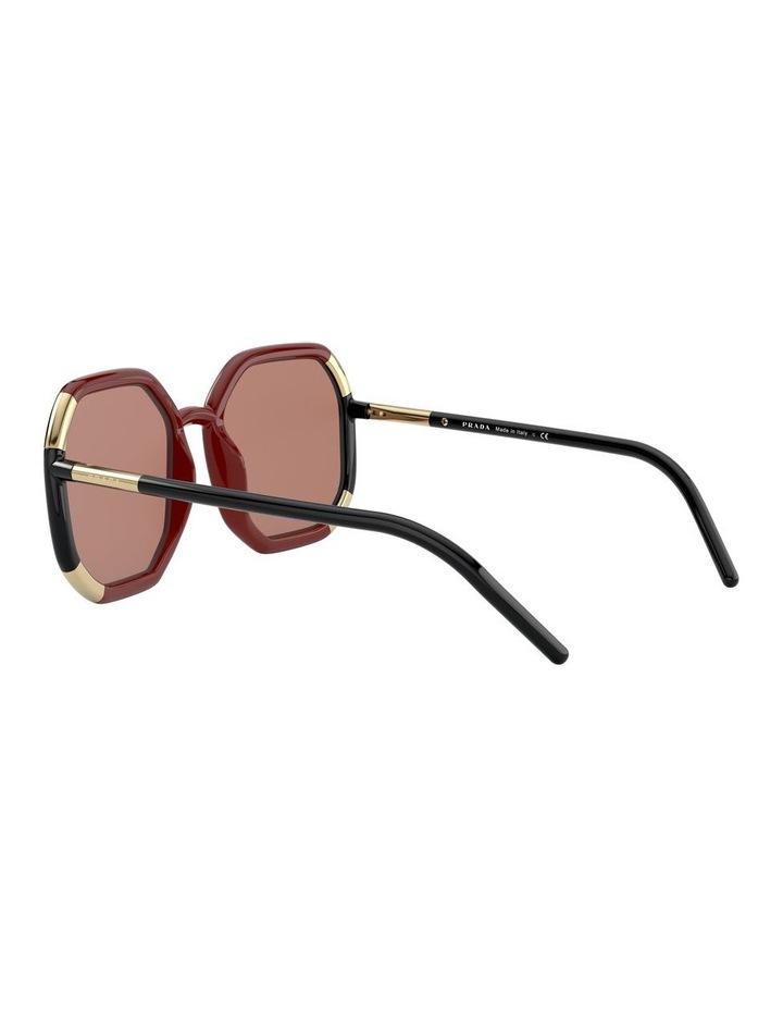 Red/Black Octagon Sunglasses 0PR20XS 1531045003 image 5