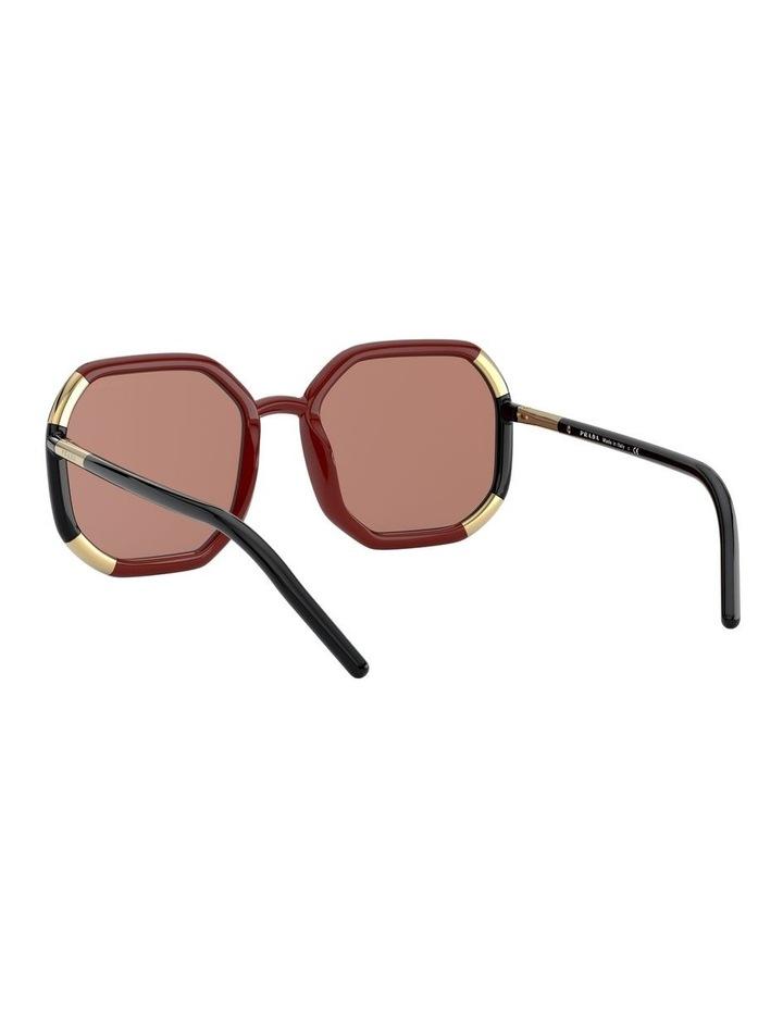 Red/Black Octagon Sunglasses 0PR20XS 1531045003 image 6