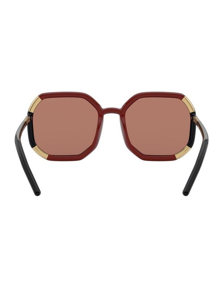Red/Black Octagon Sunglasses 0PR20XS 1531045003 image 7